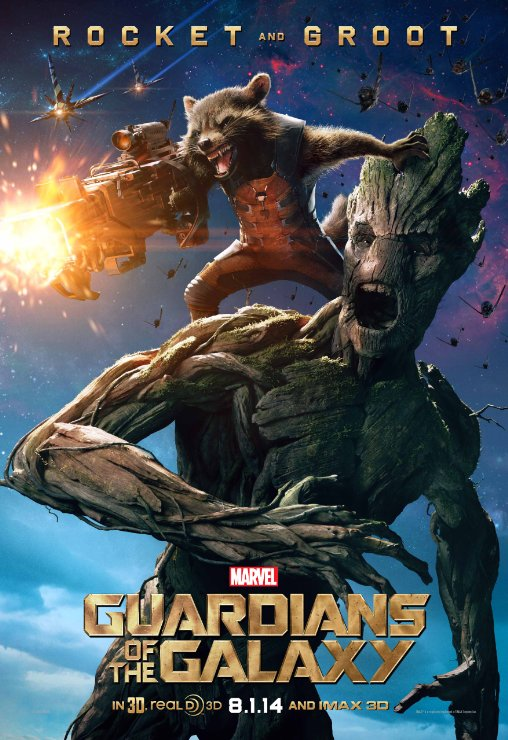 Guardians Rocket n Groot